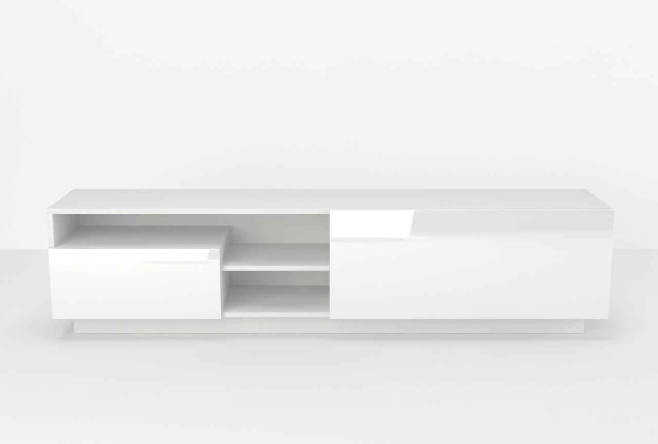 Szafka rtv Cotia 180cm w stylu nowoczesnym