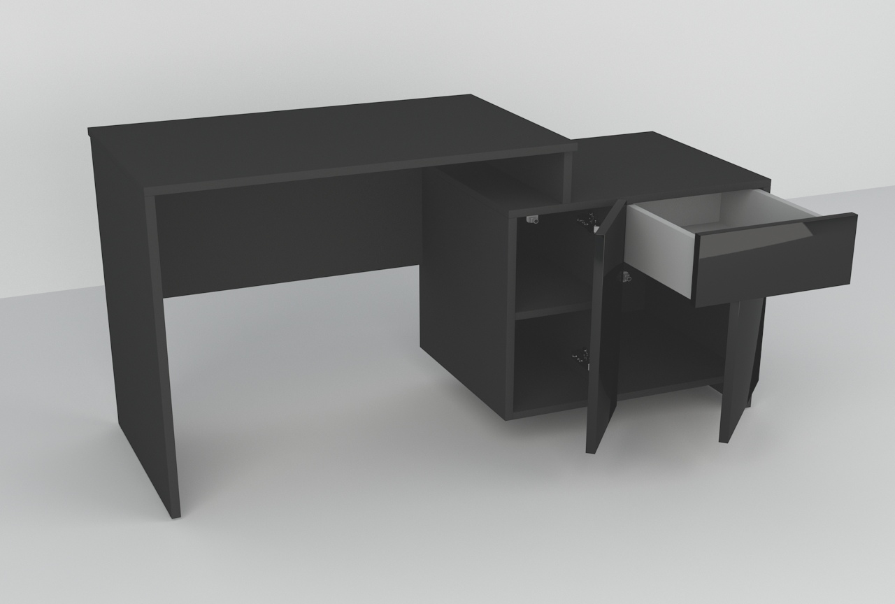 Na drukarkę, biurko.