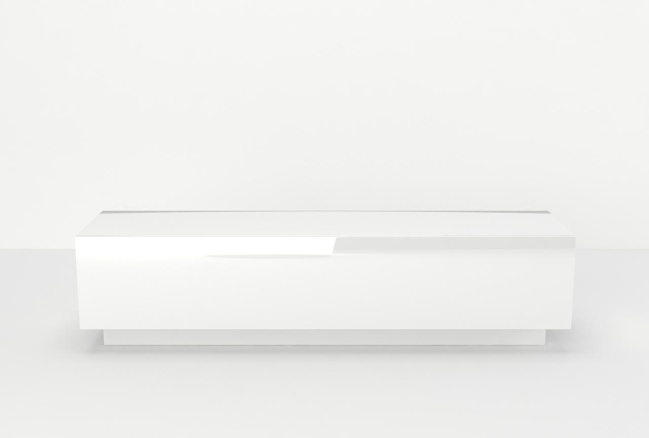 cała w połysku, klik klak, lustrzany, pod telewizor, mebel