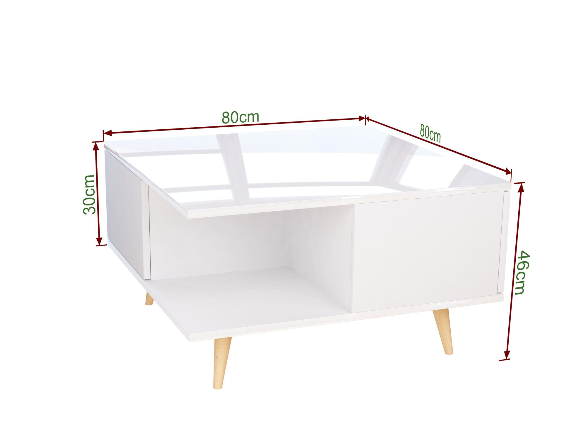 stolik, ława, meble skandynawskie