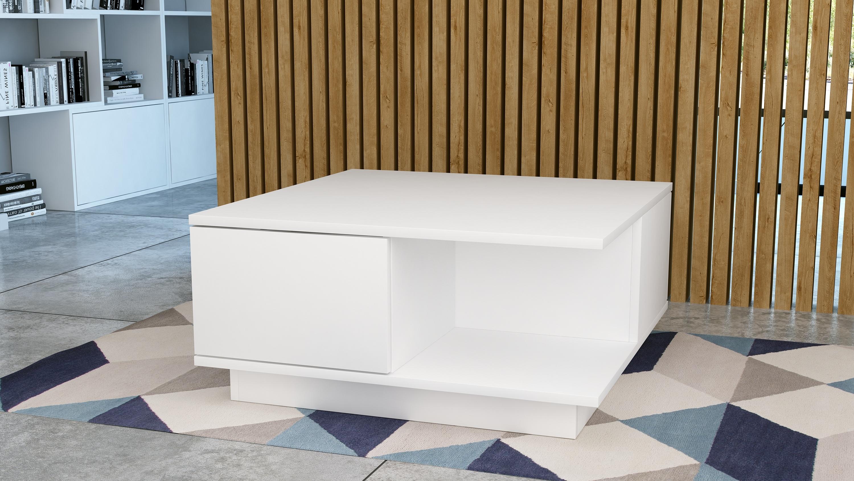 Nowoczesyny stolik Galicja, biały mat.