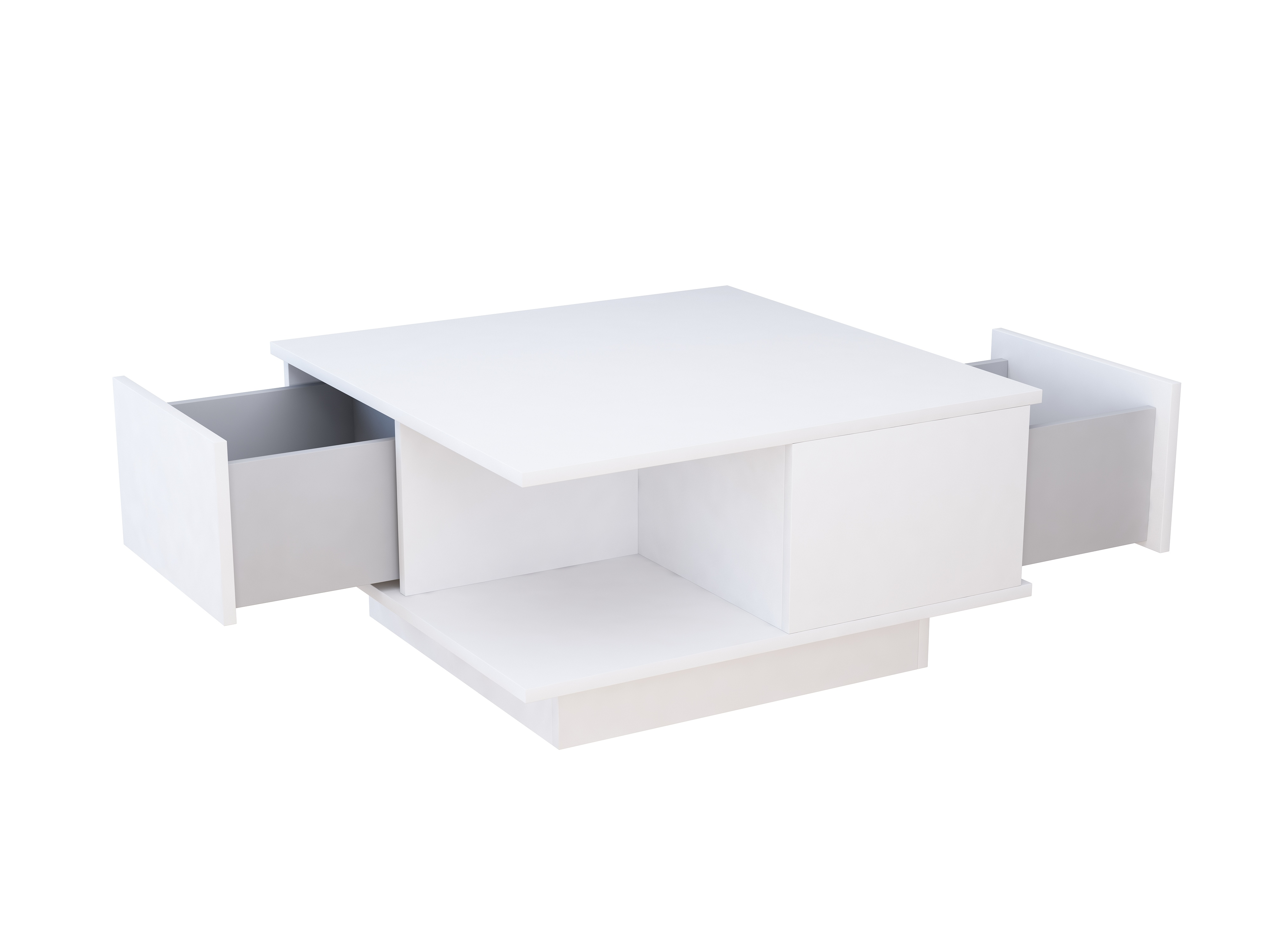 mebel do salonu, stolik, ława, szuflady, stolik kawowy, matowy stolik