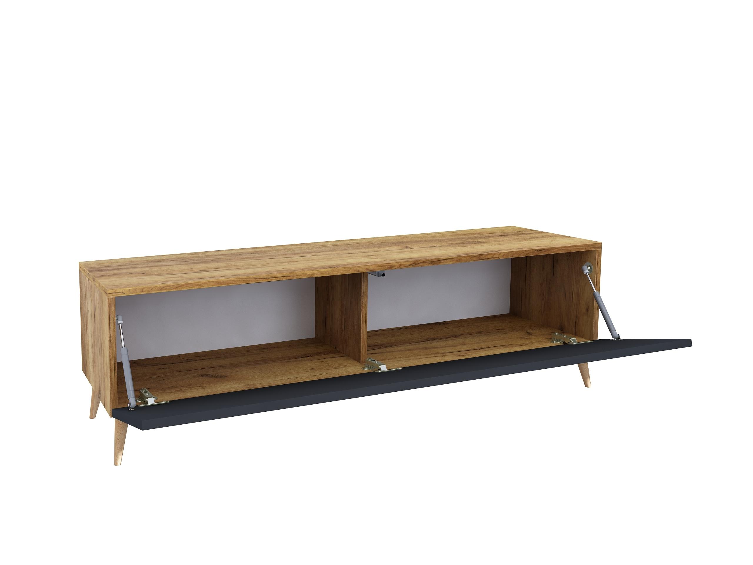 matowa szafka, czarny mat, kolor drewna, drewniane nóżki, wisząca szafka, stojąca szafka