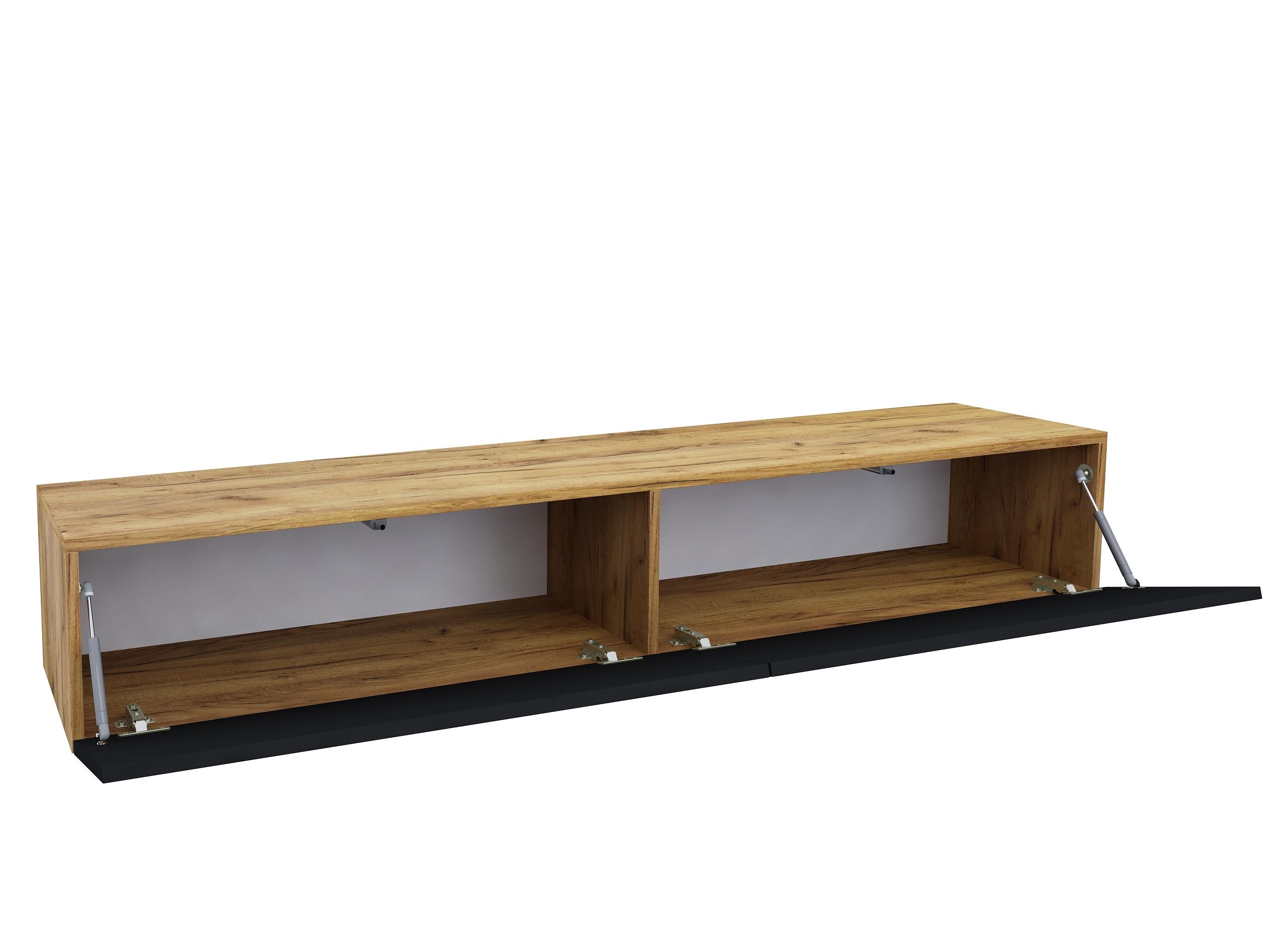 matowa szafka pod tv, dąb złoty, dąb craft złoty, wisząca szafka, stojąca szafka pod telewizor