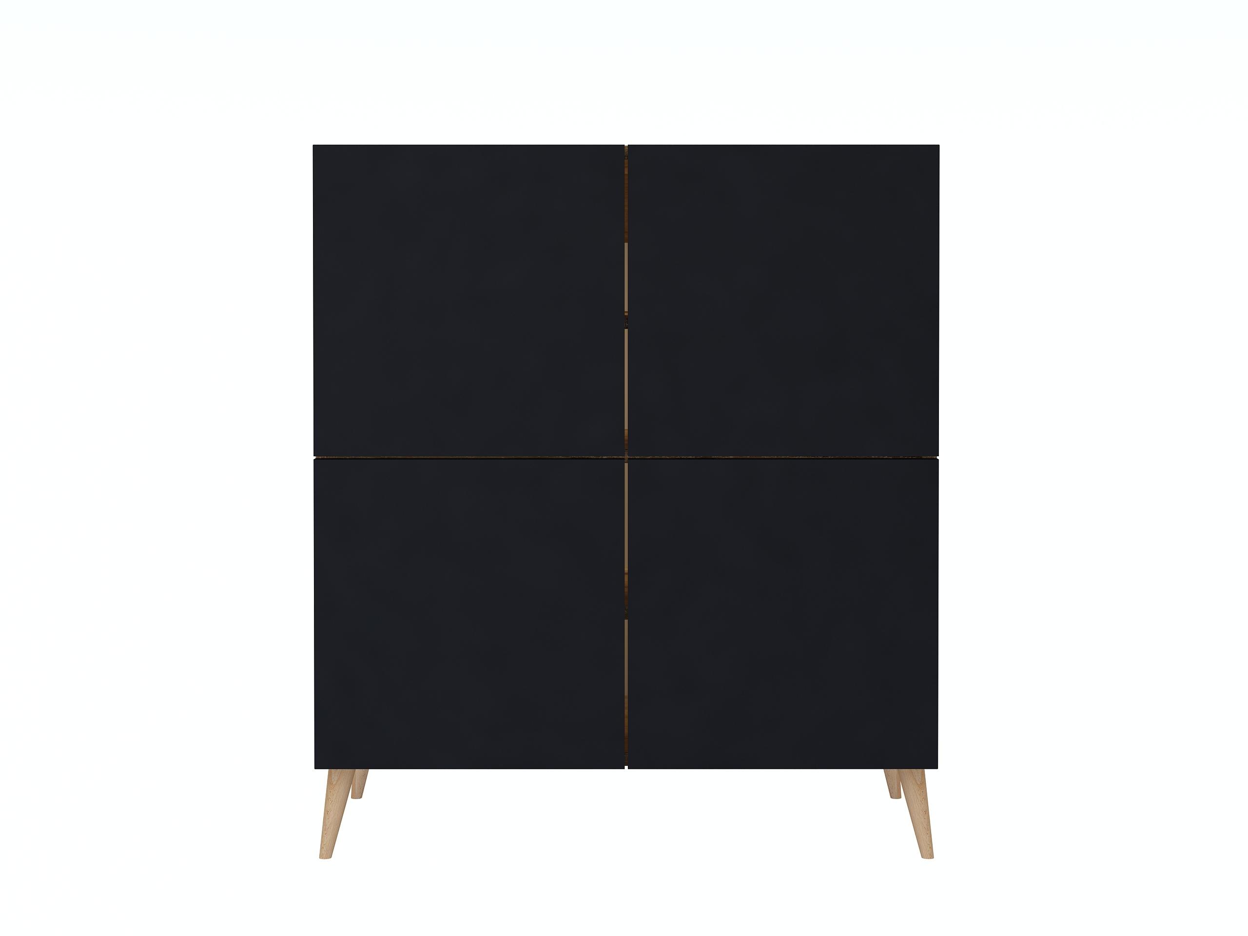 dąb złoty, dąb craft, czarny mat, stojąca komoda, wisząca komoda, komoda z drewnianymi nogami