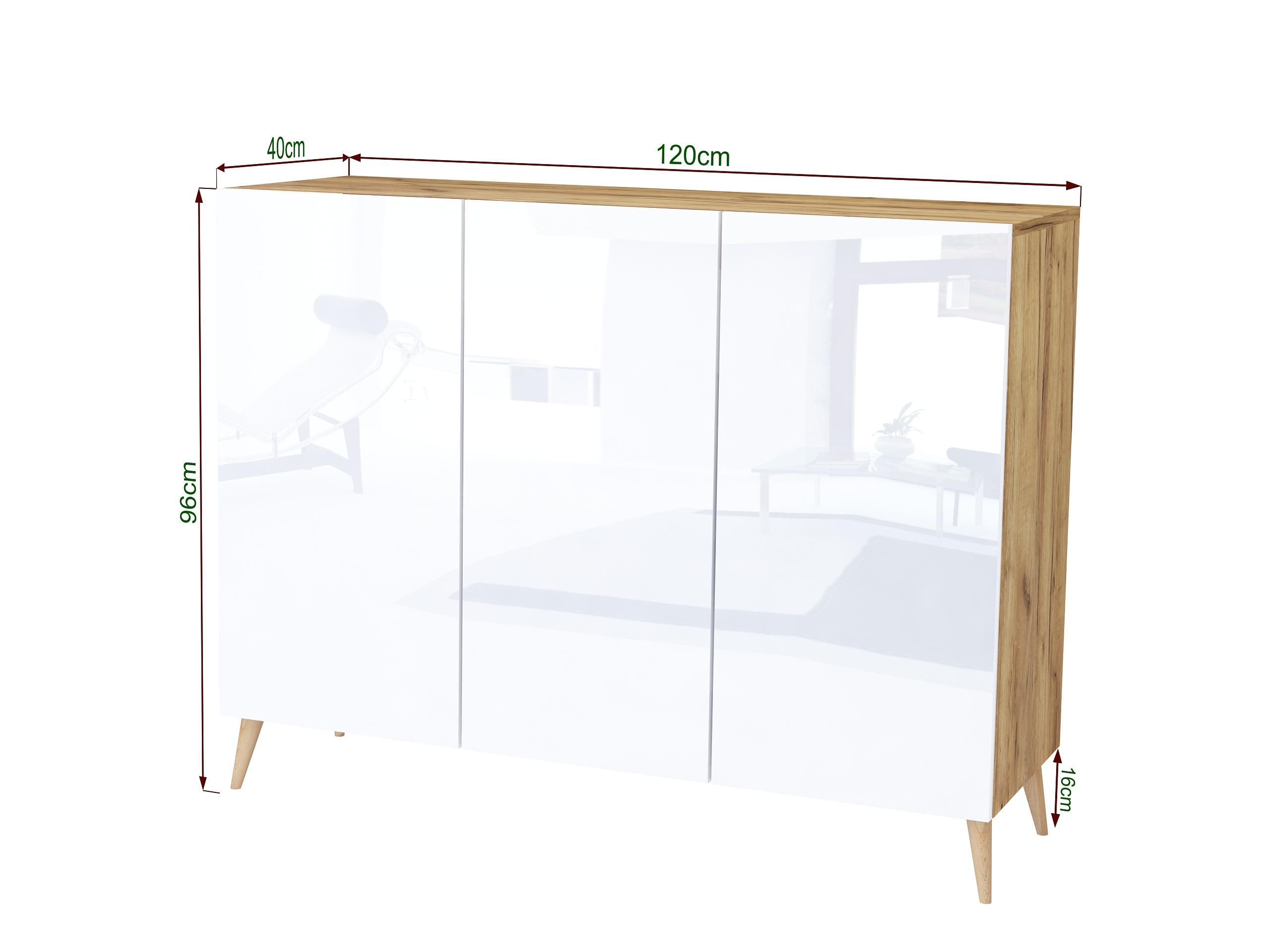 dąb craft, dąb złoty, drewniane nogi, stojąca komoda do sypialni, wisząca komoda do salonu, szafka do biura