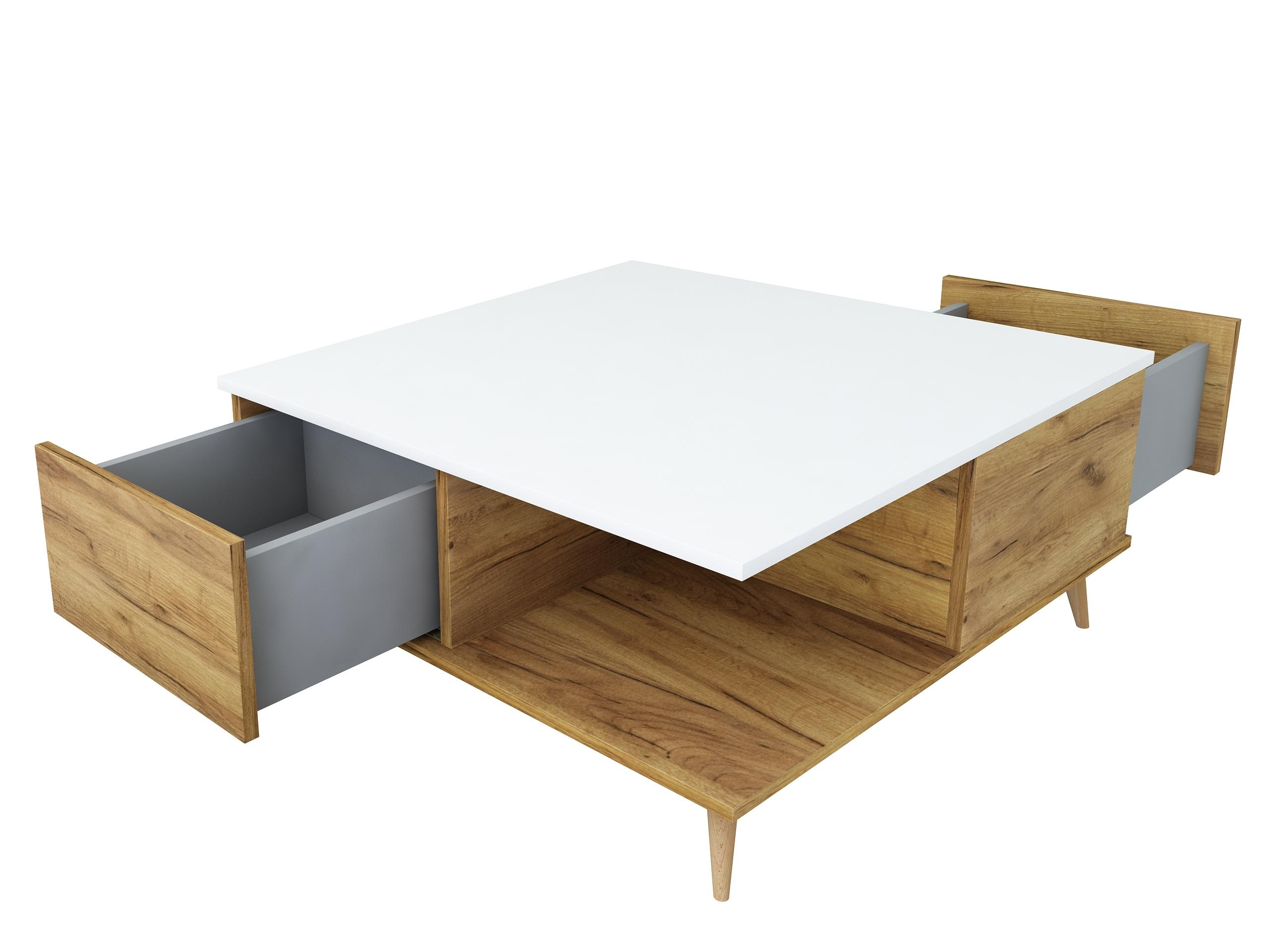 dąb złoty, dąb craft, biały mat, scandi, styl skandynawski, matowy stolik kawowy, stolik na nóżkach